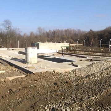 Ieudul va avea stație de tratare și potabilizare a apei, lucrările s-au făcut în proporție de 40%