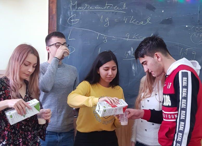 VIDEO | Workshop pentru elevi despre alimentația sănătoasă