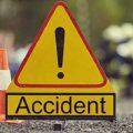 Patru tineri, victime într-un accident de circulație