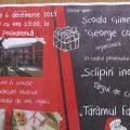 """Școala Gimnazială """"George Coșbuc""""din Sighetu Marmației organizează un Târg de Crăciun cu obiecte realizate de elevii școlii"""