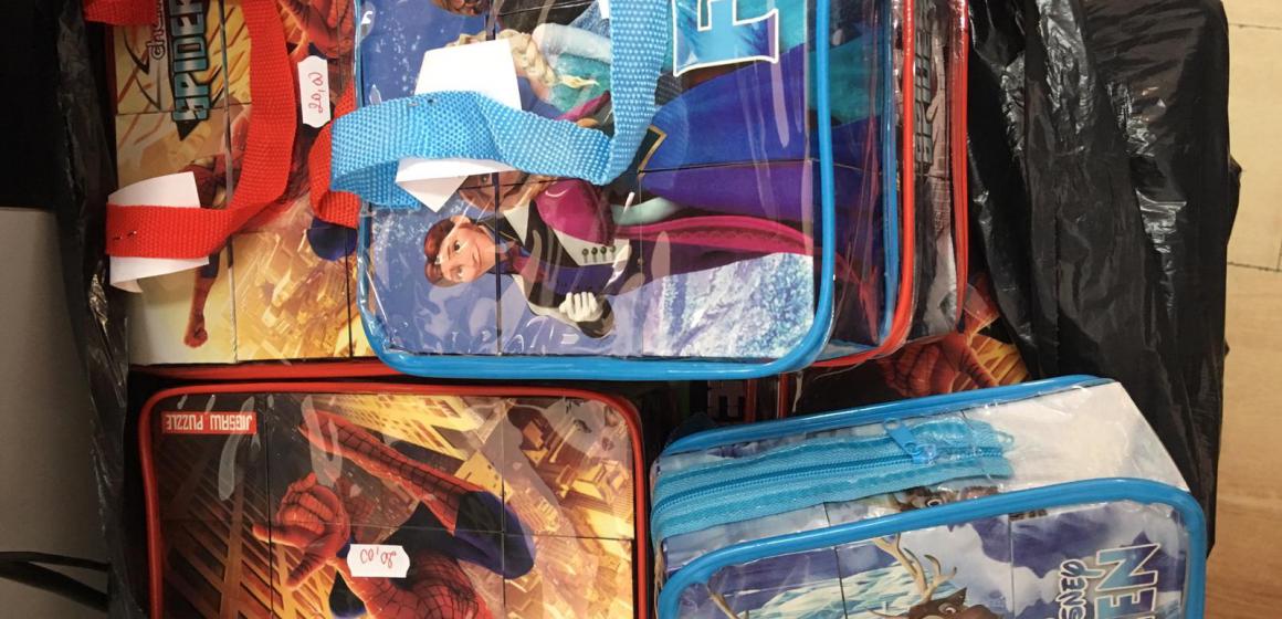 VIDEO | Jucării contrafăcute confiscate de poliţişti