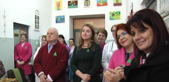 Emoții mari, sentimente speciale, în prag de sărbători la Spitalul Municipal Sighet
