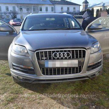Audi Q7 căutat de autoritățile britanice, găsit în Cavnic