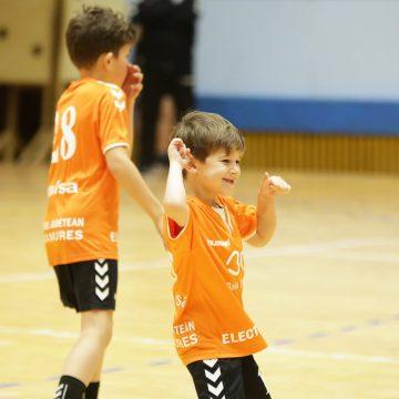 Sportivii Academiei de Handbal Minaur și-au reluat antrenamentele după vacanța de sărbători