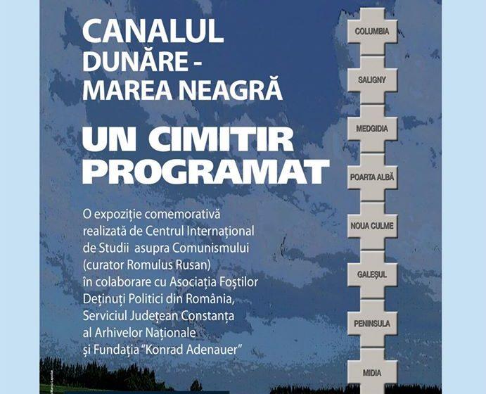 """Expoziţia Canalul Dunăre – Marea Neagră. Un cimitir Programat – din cadrul Memorialului Sighet, deschisă la Muzeul Brăilei """"Carol I"""""""