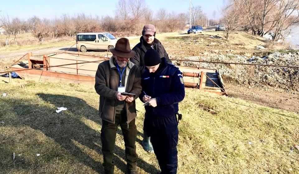 AJVPS Maramureș a început acțiunile de control privind pescuitul pe apele de șes