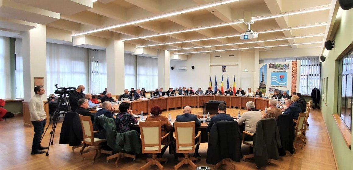 VIDEO   Aleșii județeni s-au reunit în prima ședință ordinară a Consiliului Județean Maramureș, din anul 2020