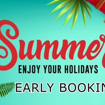 Reducerile de Early Booking continuă! Prețurile încep de la 150 euro/persoană