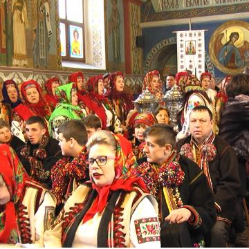 VIDEO   De Festivalul internațional de colinde si datini ucrainene, la Sighetu Marmației