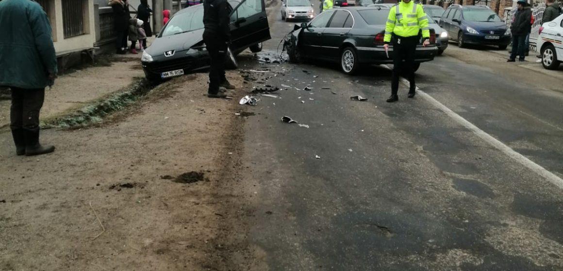 Accident rutier grav în Bârsana