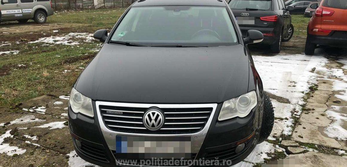 VIDEO | Mașină căutată în Germania, găsită de lucrători ai ITPF Sighet