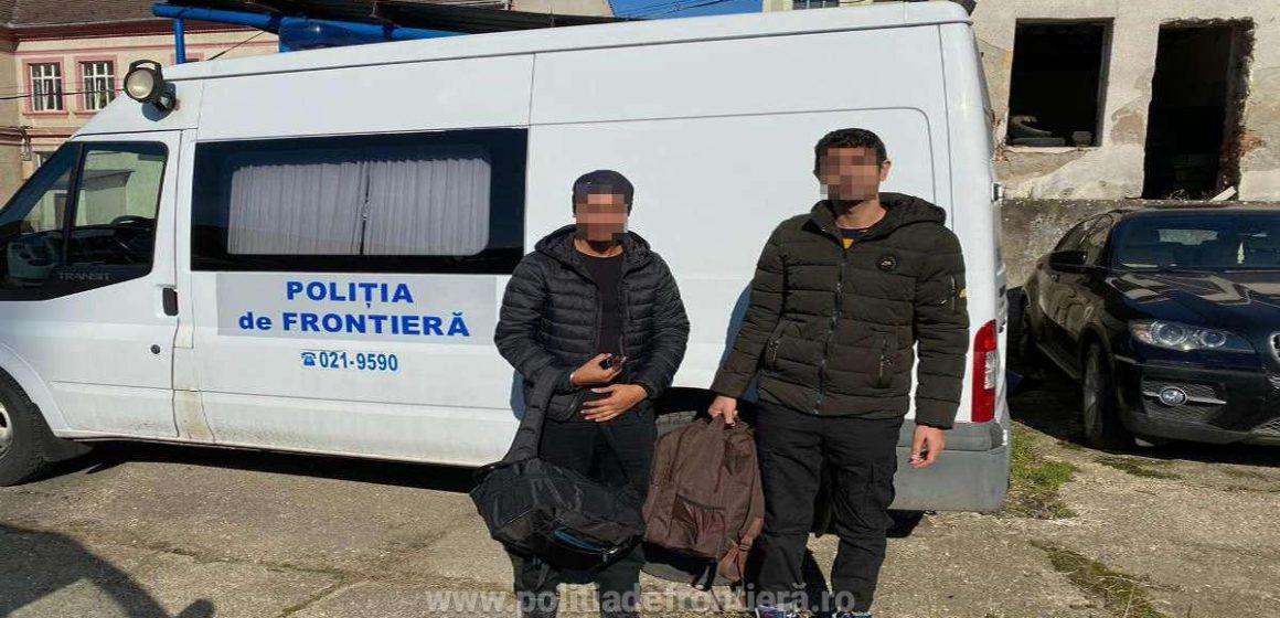 VIDEO | Doi indieni, opriți să treacă ilegal granița de lucrători ai ITPF Sighet