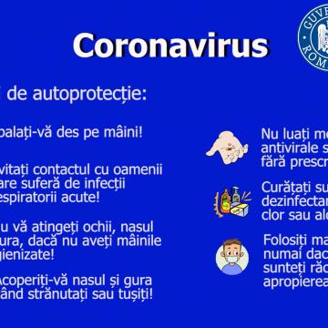 VIDEO | Măsuri de autoprotecție contra infectării cu coronavirus