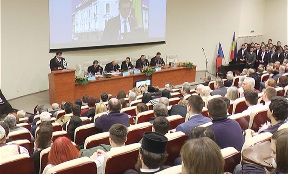 Ceremonie solemnă la Centrul Universitar Nord din Baia Mare