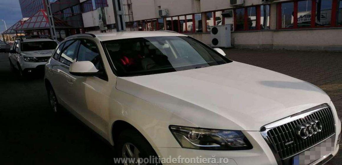 Mașină căutată în Italia, recuperată de polițiștii de frontieră din cadrul ITPF Sighetu Marmației