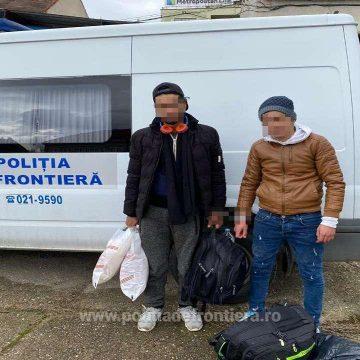 Doi marocani, opriți să treacă ilegal granița