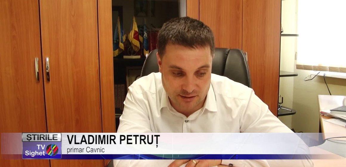 Vladimir Petruț a anunțat că își va da demisia cu cinci zile înainte de expirarea mandatului de primar