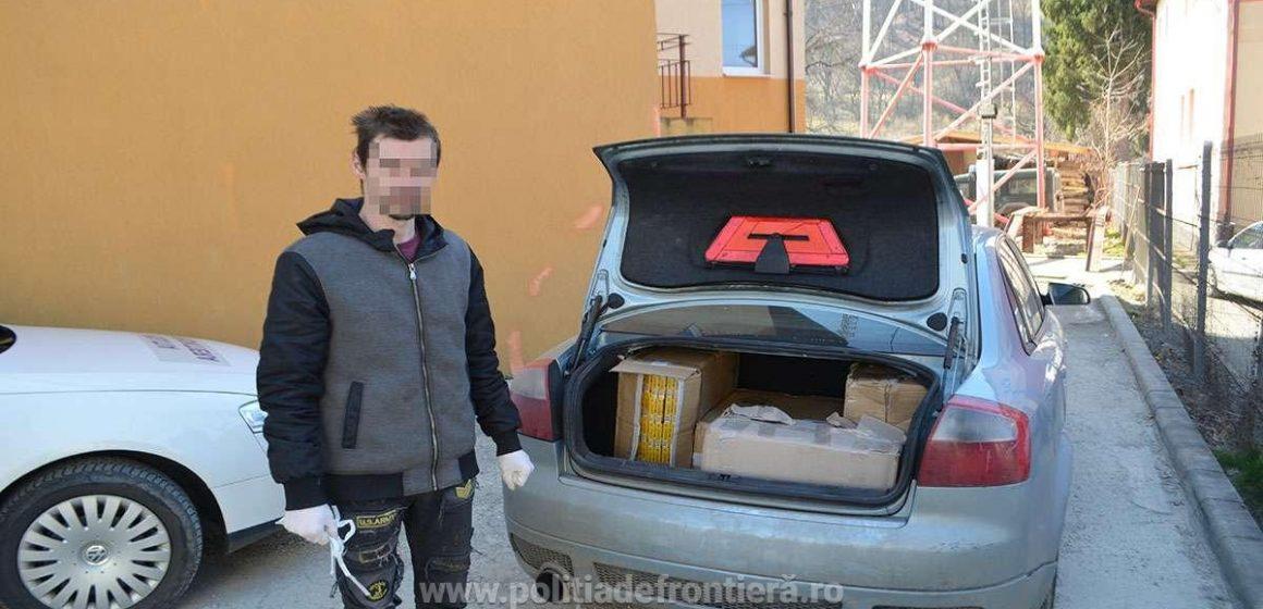 VIDEO   Prins cu ocaua mică – și cu portbagajul plin cu țigări de contrabandă