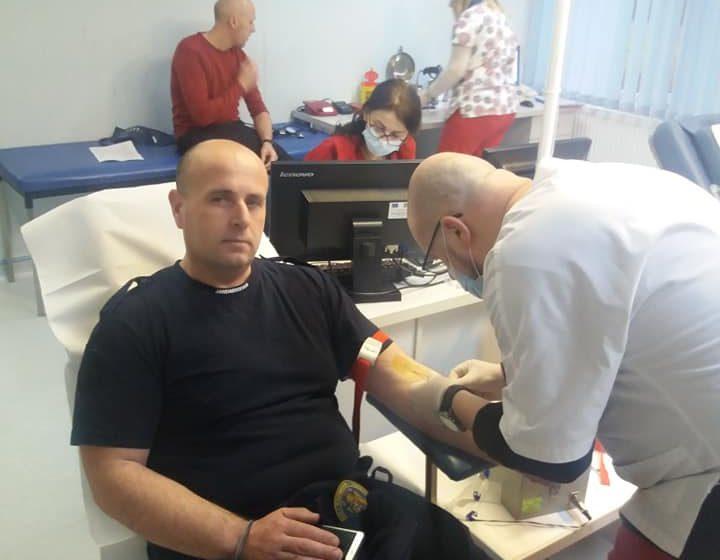 VIDEO | Jandarmii maramureşeni au demarat o campanie de donare sânge
