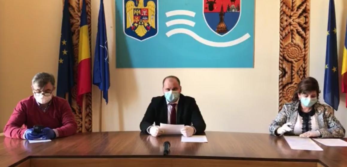 """VIDEO   Prefectul Nicolae-Silviu Ungur: """"Trebuie să rămânem calmi și responsabili"""""""