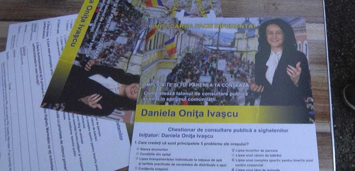 VIDEO | Sighetenii, consultați în privința problemelor din oraș