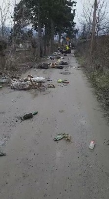 VIDEO | Curățenia de primăvară scoate la iveală cantități uriașe de deșeuri pe străzile din Sighet