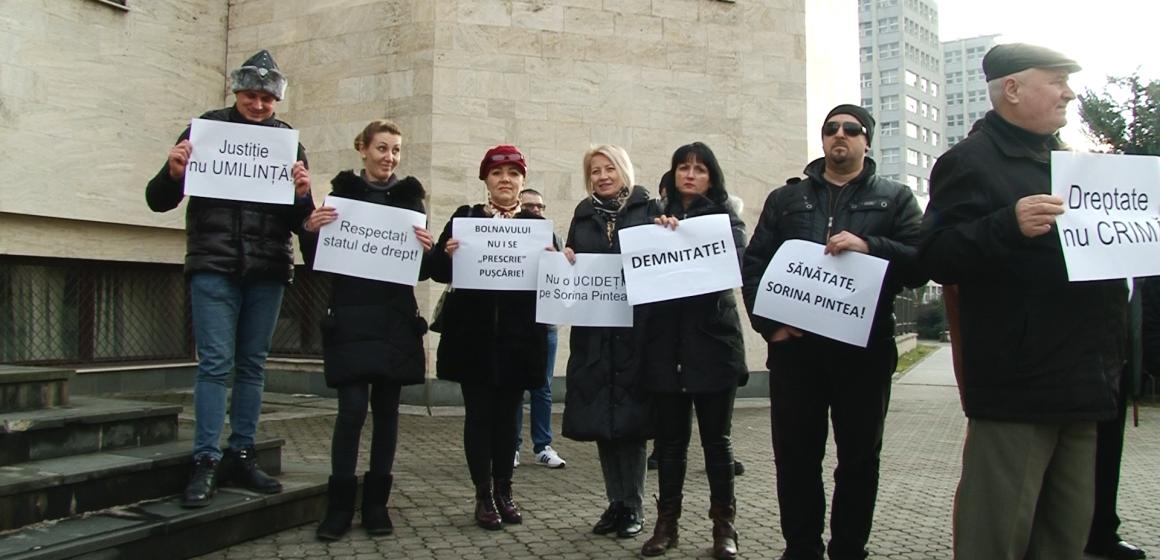 VIDEO | FOTO | Protest la Baia Mare pentru susținerea Sorinei Pintea