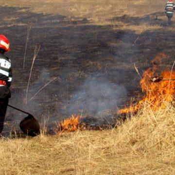 VIDEO | Tot mai multe incendii de vegetație uscată apar în aceste zile în Maramureș