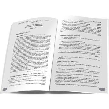 Ministerul Educației a publicat noi modele de subiecte pentru examenele de Evaluare Națională și Bacalaureat