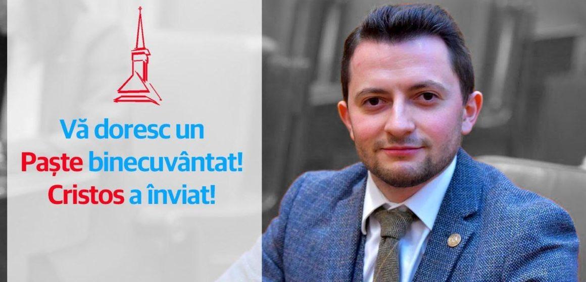 """Deputatul Duruș (USR): """"Sărbătorile de Paște să ne dea forță şi înțelepciune pentru a ne bucura de marea sărbătoare, dar şi pentru a trece cu bine această perioadă complicată"""""""