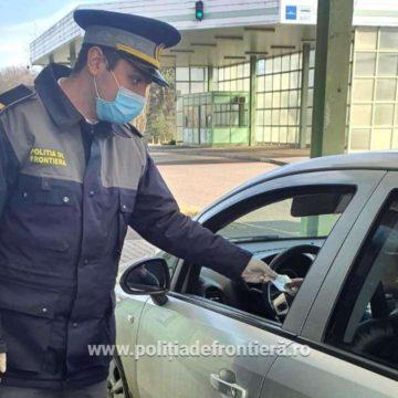 Căutat pentru infracțiuni rutiere, prins la graniță