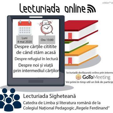 VIDEO | Lecturiada sigheteană online