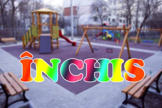Spațiile de joacă pentru copii rămân, totuși, închise