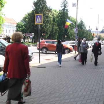 VIDEO   Străzi pline în prima zi de relaxare
