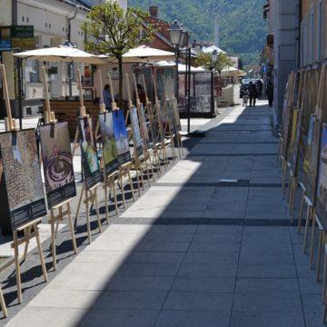 """Memorialul Sighet s-a redeschis publicului cu o expoziție inedită amenajată pe pietonala """"Corneliu Coposu"""""""