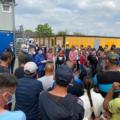 Vizită oficială de lucru pentru a vedea care sunt condițiile de muncă ale cetățenilor români care muncesc ca lucrători sezonieri în agricultură