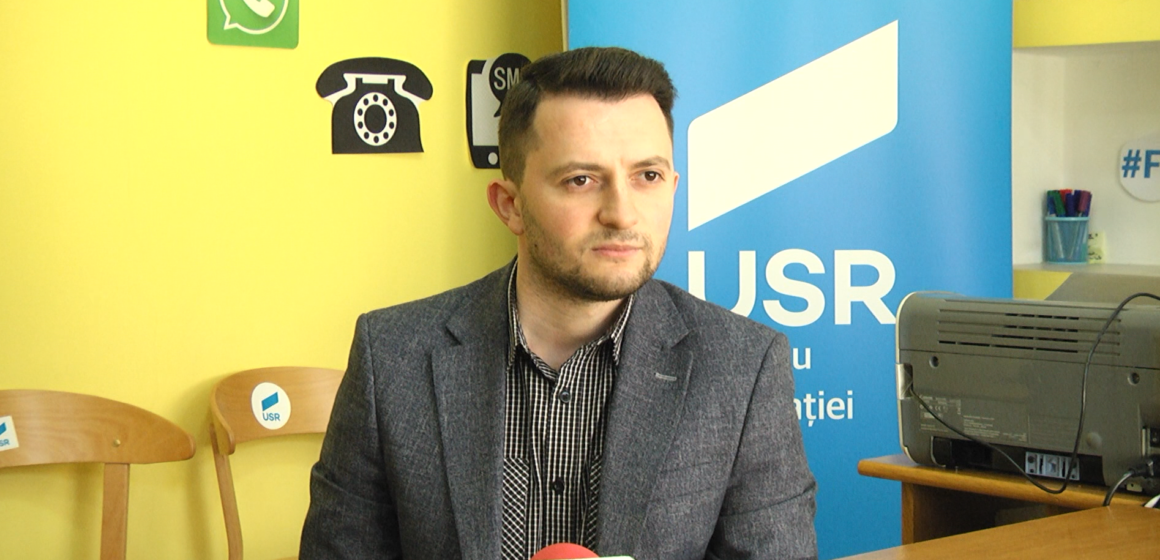 VIDEO | Deputatul USR Vlad Emanuel Duruș, la audiențe cu sighetenii