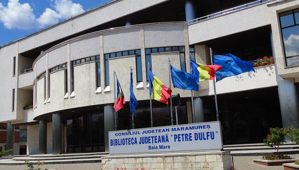 """VIDEO   Deschis, dar acces cu restricție, la Biblioteca Județeană """"Petre Dulfu"""", din Baia Mare"""