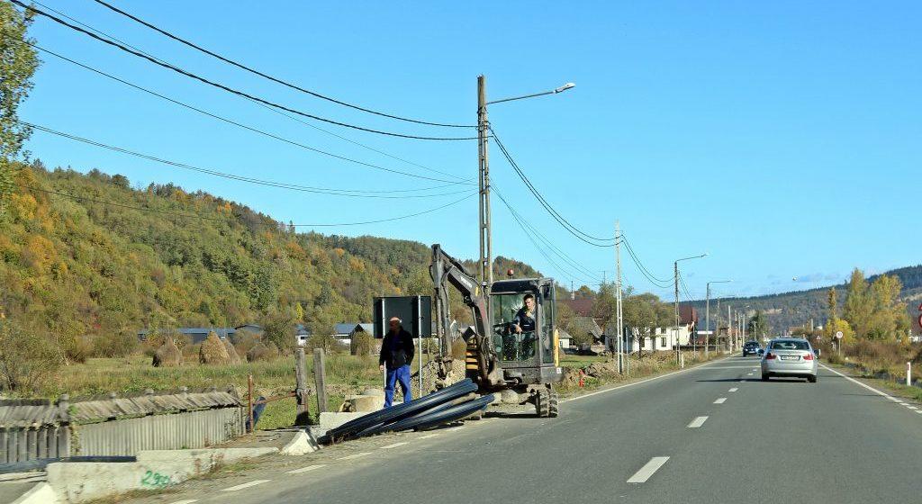 Lucrările la extinderea conductei de gaz pe raza comunei Mireșu Mare, sunt aproape finalizate
