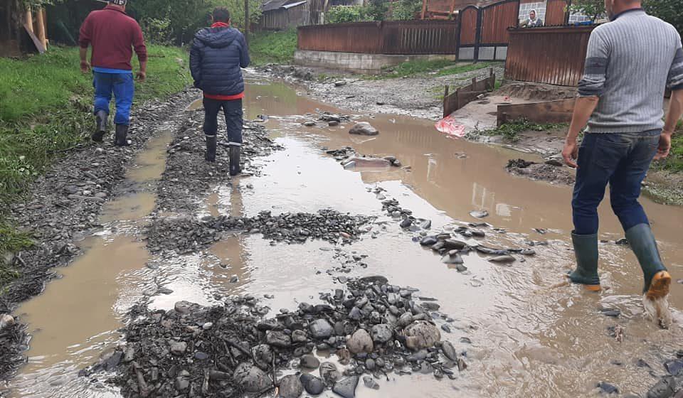 Pagube importante în Maramureș în urma ploilor torențiale de vineri