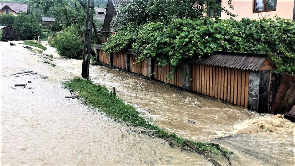 Inundații în Sighetu Marmatiei, Vadu Izei, Sacel, Salistea de Sus, Copalnic Manastur
