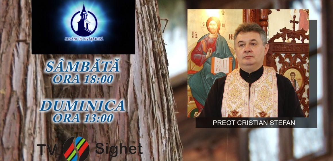 """VIDEO   PROMO   Despre duminica tuturor sfinților, în emisiunea """"Cuvânt de învățătură"""", la TV Sighet"""