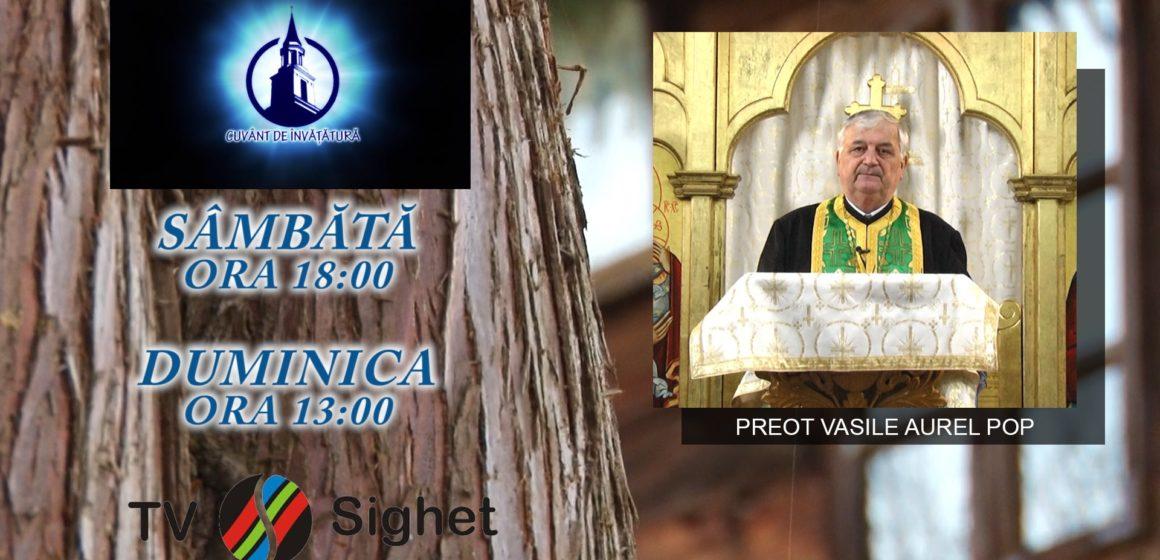 """PROMO   Despre Rusalii, la emisiunea """"Cuvânt de învățătură"""", de la TV Sighet"""