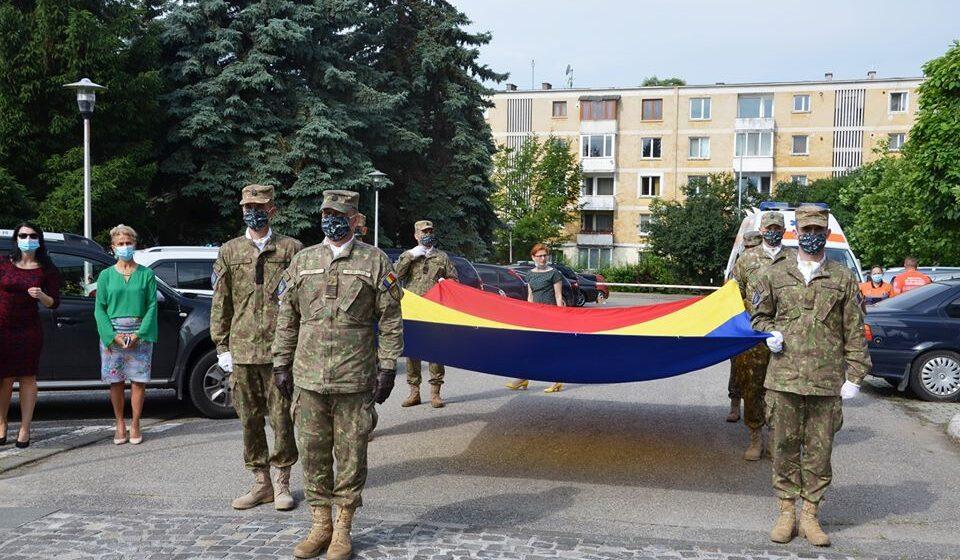 VIDEO | Manifestare dedicată sărbătoririi Zilei Drapelului Național, la Baia Mare