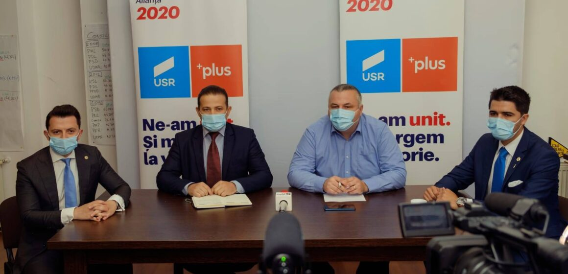 """Alianța USR PLUS – polul de dreapta  de care Baia Mare și Maramureșul aveau nevoie   """"Împreună putem aduce viitorul acasă!"""""""