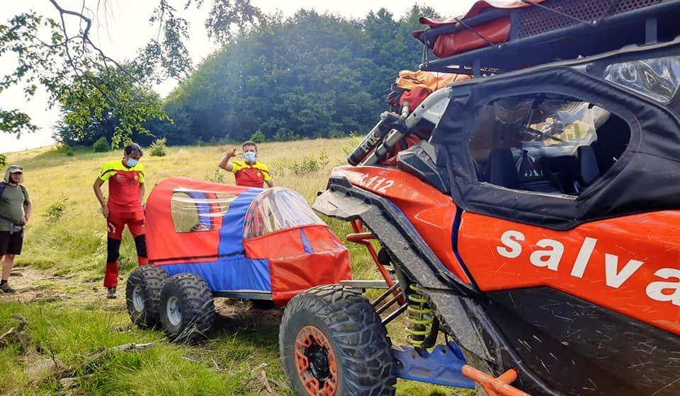 VIDEO | Profesionalismul salvatorilor montani din Maramureș, dovedit prin alte două acțiuni încheiate cu succes