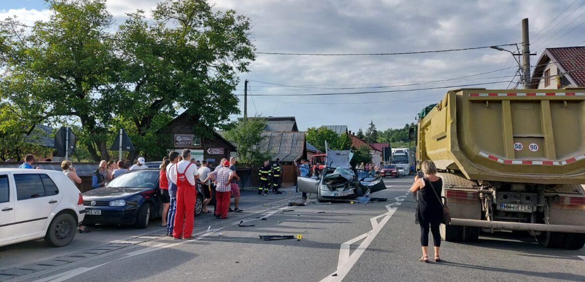 VIDEO | Accident rutier cu 5 victime în Vadu Izei