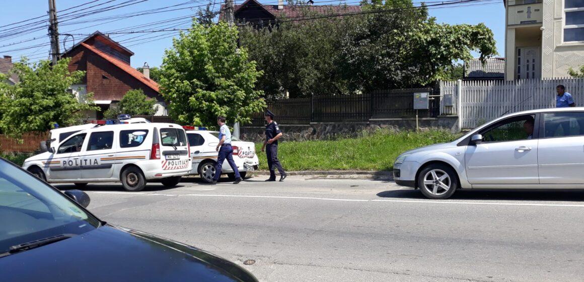 VIDEO | ACTUALIZARE | Trei mașini și o autospecială de poliție implicate într-un accident rutier în Sighetu Marmației
