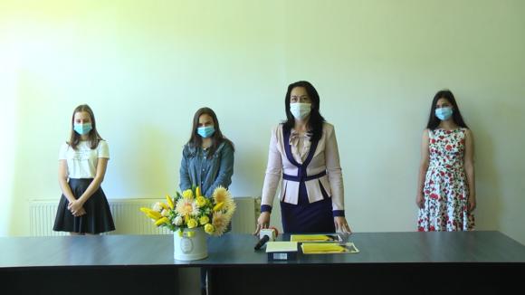 VIDEO | Elevii de 10 ai Sighetului au fost premiați de liberali