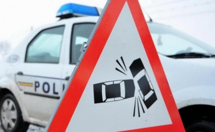 VIDEO | Accident rutier cu părăsirea locului accidentului